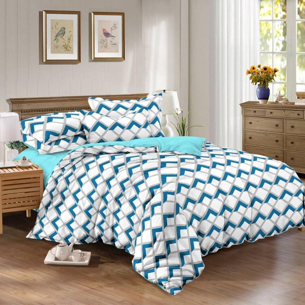 Недорогое постельное белье геометрия